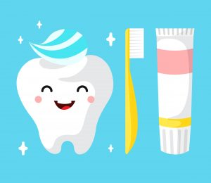 Children Dental Clinic Cartoon